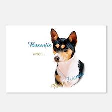 Basenji Best Friend1 Postcards (Package of 8)
