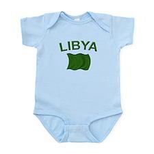 Libyan Flag Infant Bodysuit