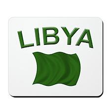 Libyan Flag Mousepad
