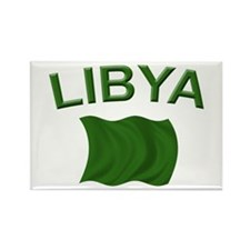 Libyan Flag Rectangle Magnet