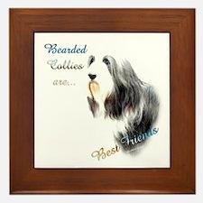 Bearded Best Friend1 Framed Tile