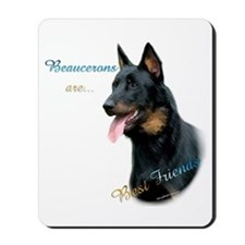 Beauceron Best Friend1 Mousepad