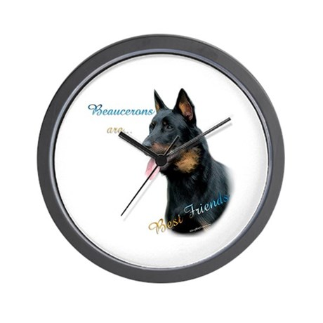 Beauceron Best Friend1 Wall Clock