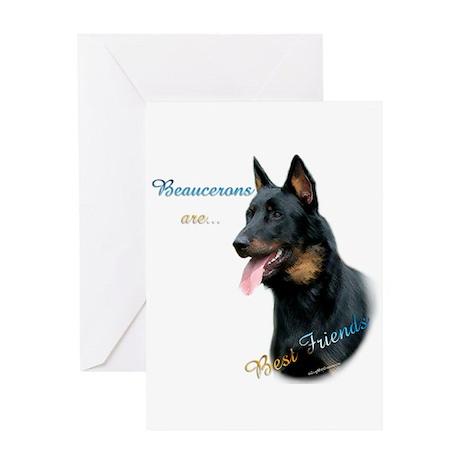Beauceron Best Friend1 Greeting Card