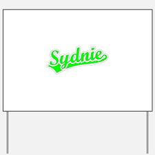 Retro Sydnie (Green) Yard Sign