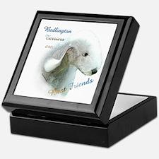 Bedlington Best Friend1 Keepsake Box