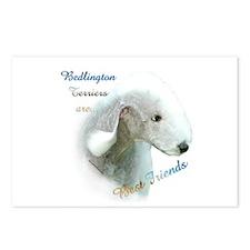 Bedlington Best Friend1 Postcards (Package of 8)