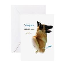 Malinois Best Friend1 Greeting Card