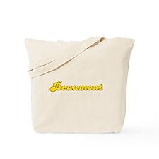 Retro Beaumont (Gold) Tote Bag