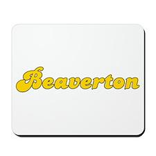 Retro Beaverton (Gold) Mousepad