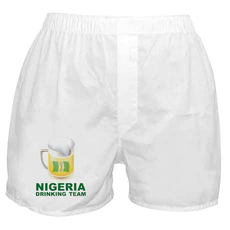 Nigeria Drinking Team Boxer Shorts