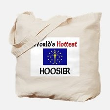 World's Hottest Hoosier Tote Bag