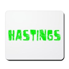 Hastings Faded (Green) Mousepad