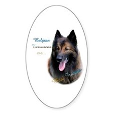 Terv Best Friend1 Oval Decal
