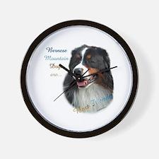 Bernese Best Friend1 Wall Clock