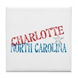 Charlotte north carolina Drink Coasters
