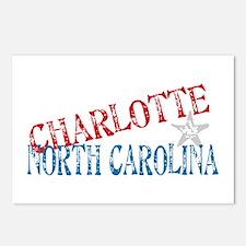 Charlotte North Carolina Retro Postcards (Package