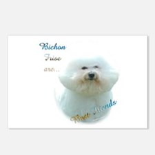 Bichon Best Friend1 Postcards (Package of 8)