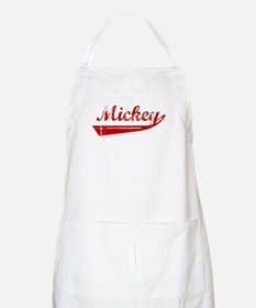 Mickey (red vintage) BBQ Apron