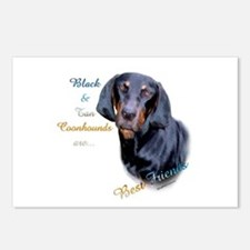 B&T Coonhound Best Friend1 Postcards (Package of 8