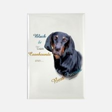 B&T Coonhound Best Friend1 Rectangle Magnet (10 pa