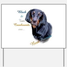 B&T Coonhound Best Friend1 Yard Sign