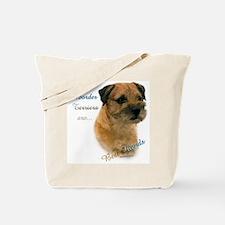 Border Terrier Best Friend1 Tote Bag