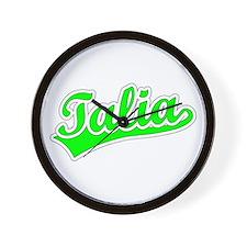 Retro Talia (Green) Wall Clock