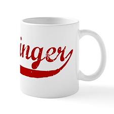 Messinger (red vintage) Mug
