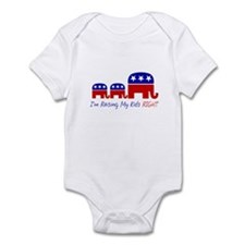 Raising My Kids Right Infant Bodysuit