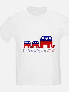 Raising My Kids Right T-Shirt