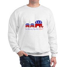 Raising My Kids Right Sweatshirt