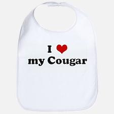 I Love my Cougar Bib