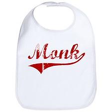Monk (red vintage) Bib