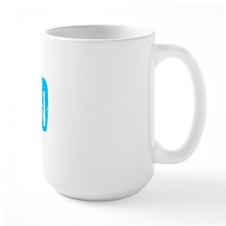 Indio Faded (Blue) Large Mug