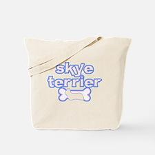 Powderpuff Skye Terrier Tote Bag