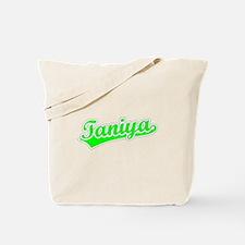 Retro Taniya (Green) Tote Bag