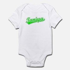 Retro Taniya (Green) Infant Bodysuit
