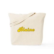 Retro Blaine (Gold) Tote Bag