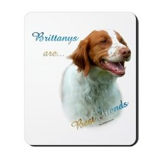 Brittany Best Friend1 Mousepad