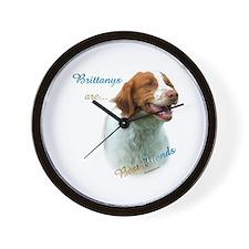Brittany Best Friend1 Wall Clock