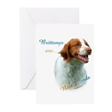 Brittany Best Friend1 Greeting Cards (Pk of 10)