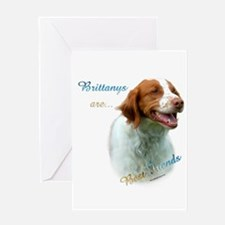 Brittany Best Friend1 Greeting Card