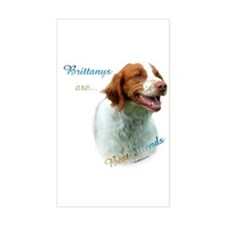 Brittany Best Friend1 Rectangle Decal