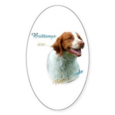 Brittany Best Friend1 Oval Decal