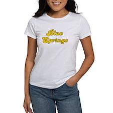 Retro Blue Springs (Gold) Tee