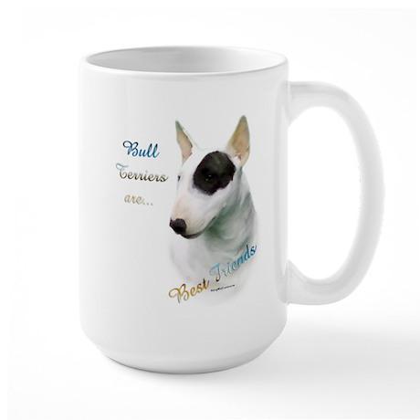 Bull Terrier Best Friend1 Large Mug