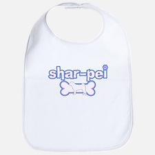 Powderpuff Shar Pei Bib