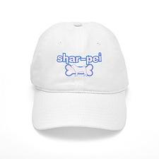 Powderpuff Shar Pei Baseball Cap