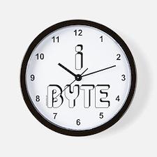 I Byte Wall Clock